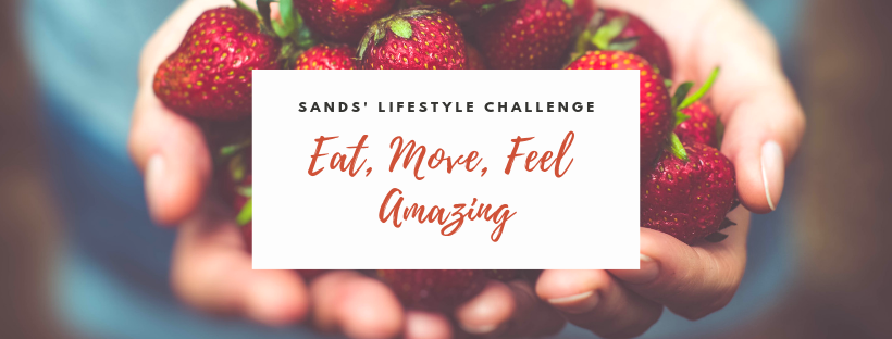 sands lifestyle challenge banner