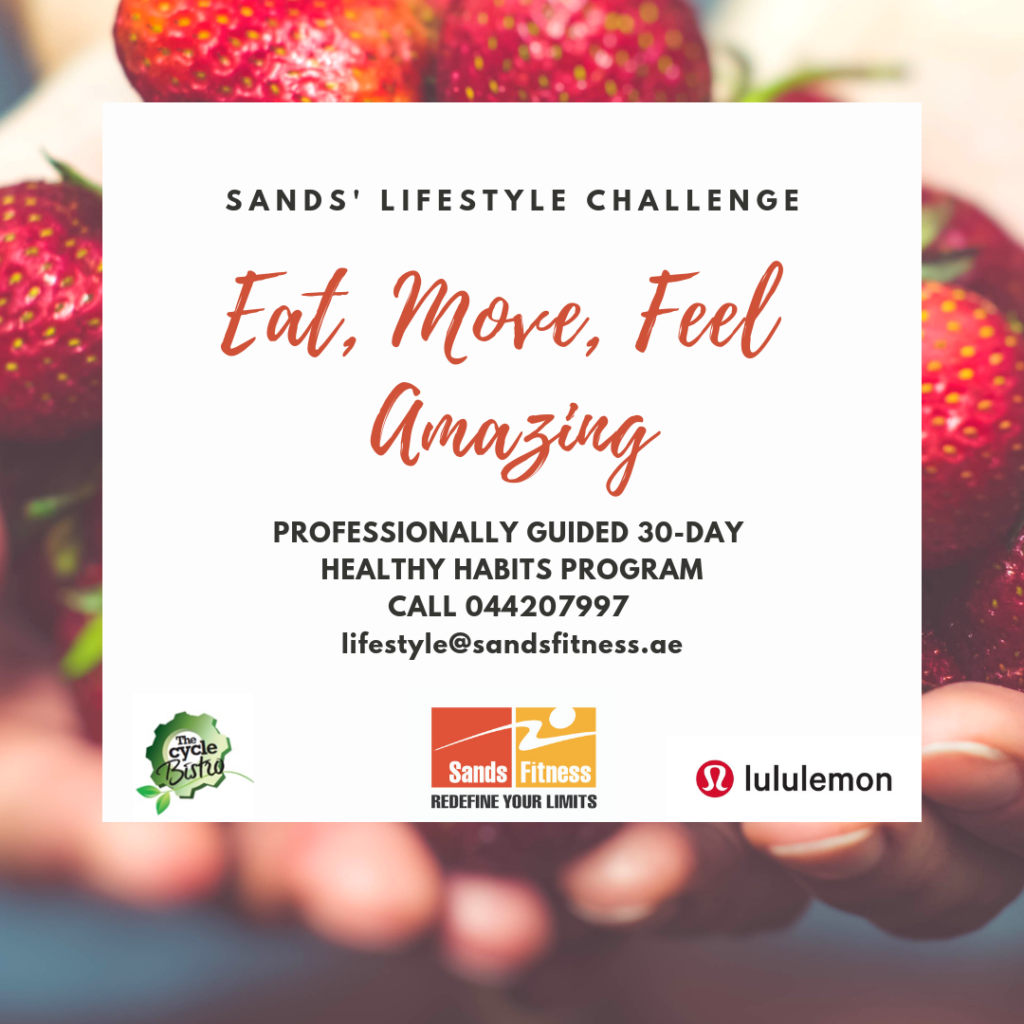 sands lifestyle challenge